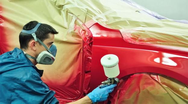 Локальне фарбування авто